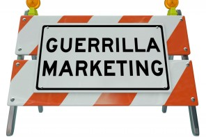 Promotional products as a guerrilla marketing strategy